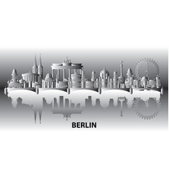 Berlin city gradient 2 vector