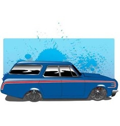 BlueWagon vector