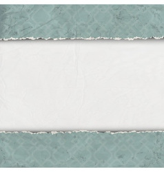 Border of torn old paper vector