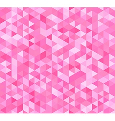 Colorful seamless pattern with triangles vector