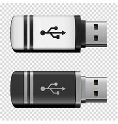 Flash drive usb vector