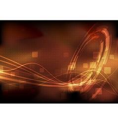 Hi-tech modernistic energy technology background vector image