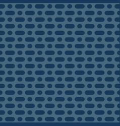 Minimalist seamless pattern simple navy blue vector