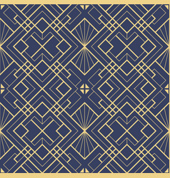 template abstract art deco blue cs6 vector image