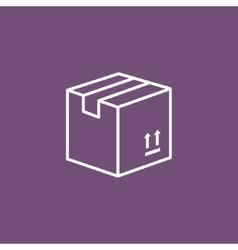 Carton Package Box icon vector image
