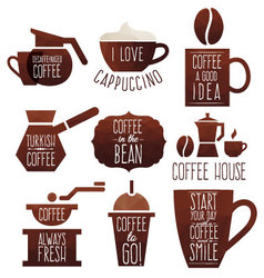 Coffee good idea vector image vector image