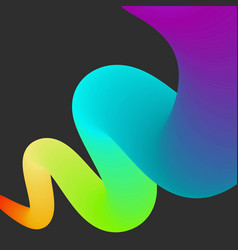 abstract color rainbow bacground vector image