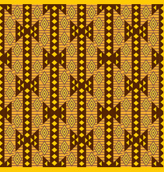 african textile design ornamental seamless vector image vector image