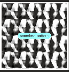 Seamless patterns with halftone dots 11 vector