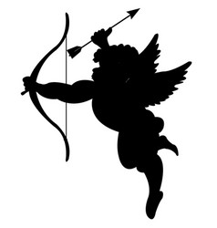 cupid with onion and dart vector image