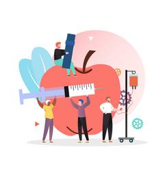 Diabetes concept for web banner website vector