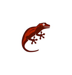 Lizard gecko logo icon download vector