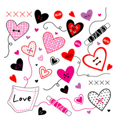 love valentine sweetheart vector image
