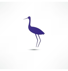 Stork Icon vector image
