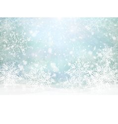 winter card vector image