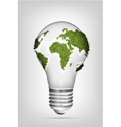 The concept of clean energy vector image