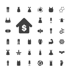33 model icons vector