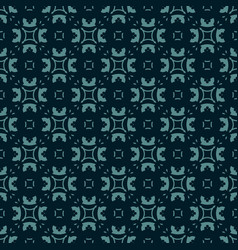Abstract floral geometric seamless pattern vector