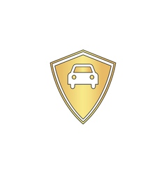 Car guard computer symbol vector