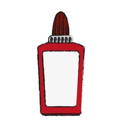 glue school supply icon image vector image