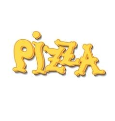Italian pizza Background vector