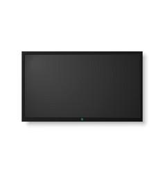 modern tv screen vector image