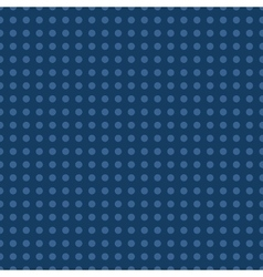 Polka dot blue seamless pattern vector