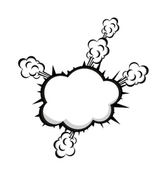 pop art onomatopoeia speech bubble icon image vector image