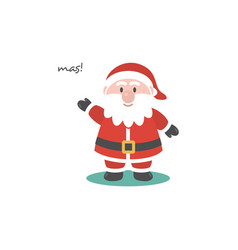 Santa clause logo vector