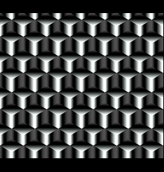 Seamless pattern of crystals of graphite vector