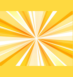 Yellow abstract rays wallpaper vector