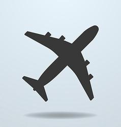 Icon of Plane vector image vector image