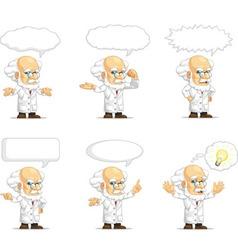Scientist or Professor Customizable Mascot 15 vector image