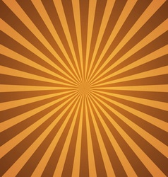 vintage rays background vector image