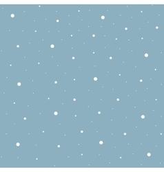 Heavy snowfall background vector image vector image