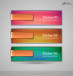 Business banners editable design elements for vector