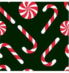 Candy chritsmas seamless pattern vector