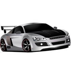 custom race car vector image