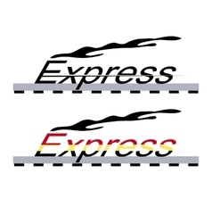 logo locomotive vector image