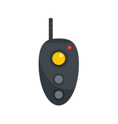 Remote controller icon flat style vector