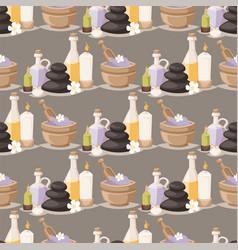 spa treatment beauty procedures wellness massage vector image