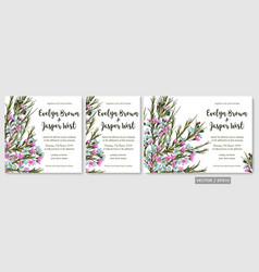 Wedding invite invitation rsvp save the date vector