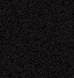 Black pixelated texture vector