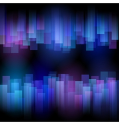 abstract aurora background vector image vector image