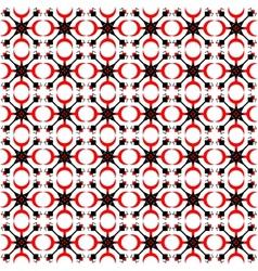 folk abstract pattern vector image