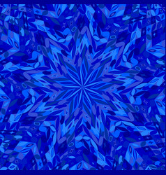 Abstract hypnotic dynamic tiled mosaic pattern vector