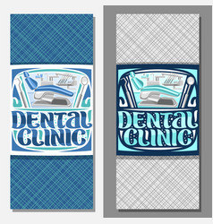 banners for dental clinic vector image