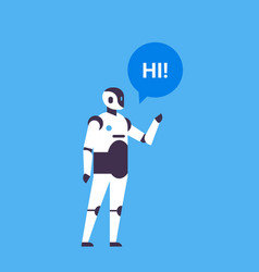 Bot helper chatbot personal assistant chat bubble vector