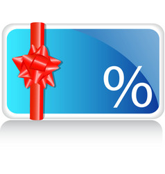 Discount label vector image