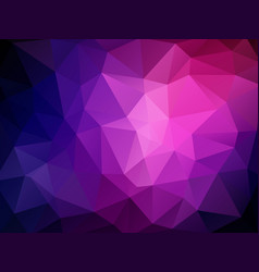 geometric violet wallpaper vector image